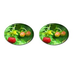 Strawberry  Cufflinks (oval) by Siebenhuehner