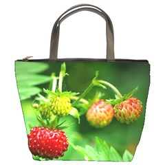 Strawberry  Bucket Bag by Siebenhuehner