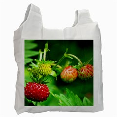 Strawberry  Recycle Bag (two Sides)
