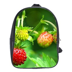 Strawberry  School Bag (large) by Siebenhuehner