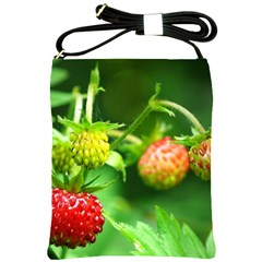 Strawberry  Shoulder Sling Bag by Siebenhuehner