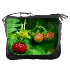 Strawberry  Messenger Bag by Siebenhuehner