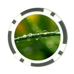 Waterdrops Poker Chip by Siebenhuehner