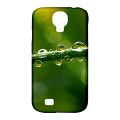 Waterdrops Samsung Galaxy S4 Classic Hardshell Case (pc+silicone) by Siebenhuehner