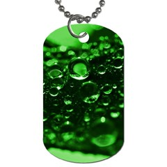 Waterdrops Dog Tag (two-sided)  by Siebenhuehner