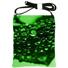 Waterdrops Shoulder Sling Bag by Siebenhuehner