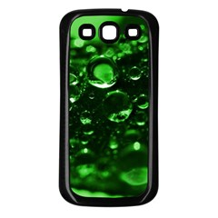 Waterdrops Samsung Galaxy S3 Back Case (black) by Siebenhuehner