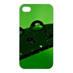 Waterdrops Apple Iphone 4/4s Premium Hardshell Case by Siebenhuehner