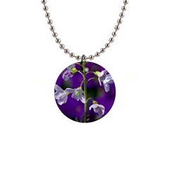 Cuckoo Flower Button Necklace by Siebenhuehner