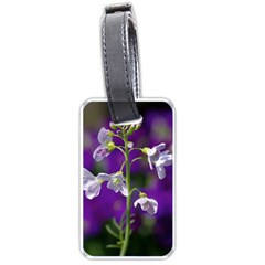 Cuckoo Flower Luggage Tag (two Sides) by Siebenhuehner