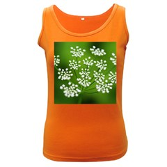 Queen Anne s Lace Womens  Tank Top (dark Colored)