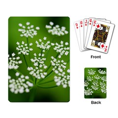 Queen Anne s Lace Playing Cards Single Design by Siebenhuehner