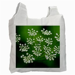 Queen Anne s Lace Recycle Bag (one Side)
