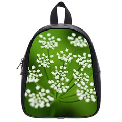 Queen Anne s Lace School Bag (small) by Siebenhuehner