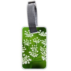 Queen Anne s Lace Luggage Tag (one Side) by Siebenhuehner