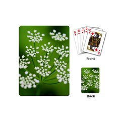 Queen Anne s Lace Playing Cards (mini) by Siebenhuehner