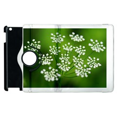 Queen Anne s Lace Apple Ipad 2 Flip 360 Case by Siebenhuehner