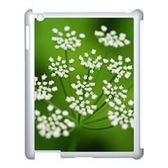 Queen Anne s Lace Apple Ipad 3/4 Case (white) by Siebenhuehner