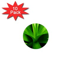 Yucca Palm  1  Mini Button Magnet (10 Pack) by Siebenhuehner