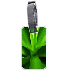 Yucca Palm  Luggage Tag (two Sides)