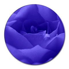 Rose 8  Mouse Pad (round)