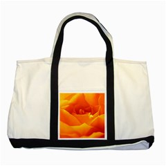 Rose Two Toned Tote Bag