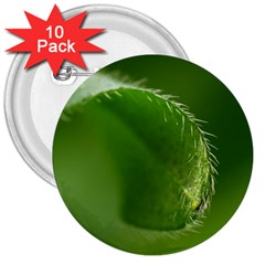 Leaf 3  Button (10 Pack) by Siebenhuehner