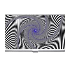 Hypnotisiert Business Card Holder by Siebenhuehner