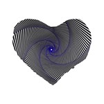 Hypnotisiert 16  Premium Heart Shape Cushion  Front