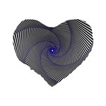 Hypnotisiert 16  Premium Heart Shape Cushion  Back