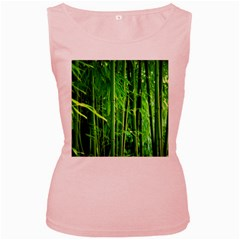 Bamboo Womens  Tank Top (pink) by Siebenhuehner