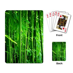 Bamboo Playing Cards Single Design by Siebenhuehner