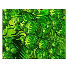 Green Balls  Jigsaw Puzzle (rectangle) by Siebenhuehner
