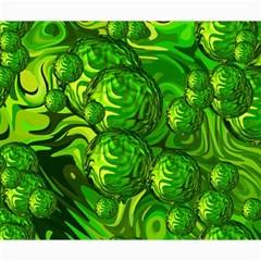 Green Balls  Canvas 20  X 24  (unframed) by Siebenhuehner