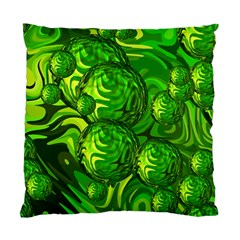 Green Balls  Cushion Case (single Sided)  by Siebenhuehner