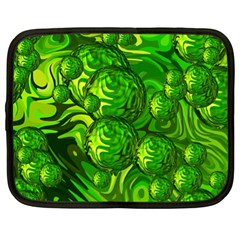 Green Balls  Netbook Case (xl) by Siebenhuehner