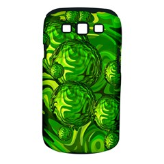 Green Balls  Samsung Galaxy S Iii Classic Hardshell Case (pc+silicone) by Siebenhuehner