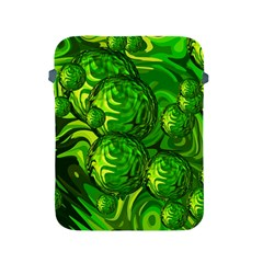 Green Balls  Apple Ipad 2/3/4 Protective Soft Case by Siebenhuehner