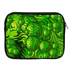 Green Balls  Apple Ipad 2/3/4 Zipper Case by Siebenhuehner