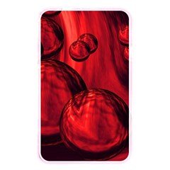 Red Bubbles Memory Card Reader (rectangular) by Siebenhuehner