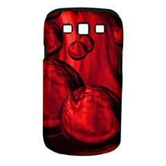 Red Bubbles Samsung Galaxy S Iii Classic Hardshell Case (pc+silicone) by Siebenhuehner