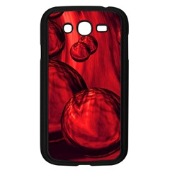 Red Bubbles Samsung Galaxy Grand Duos I9082 Case (black) by Siebenhuehner