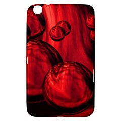 Red Bubbles Samsung Galaxy Tab 3 (8 ) T3100 Hardshell Case  by Siebenhuehner