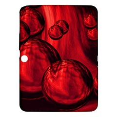 Red Bubbles Samsung Galaxy Tab 3 (10 1 ) P5200 Hardshell Case  by Siebenhuehner