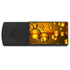 Sunset Bubbles 4gb Usb Flash Drive (rectangle) by Siebenhuehner