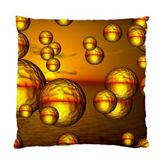 Sunset Bubbles Cushion Case (single Sided)  by Siebenhuehner