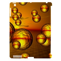 Sunset Bubbles Apple Ipad 3/4 Hardshell Case (compatible With Smart Cover) by Siebenhuehner