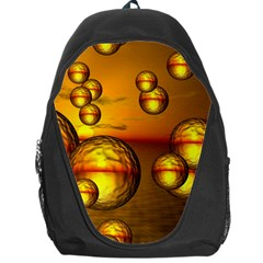 Sunset Bubbles Backpack Bag by Siebenhuehner