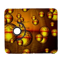 Sunset Bubbles Samsung Galaxy S  Iii Flip 360 Case by Siebenhuehner