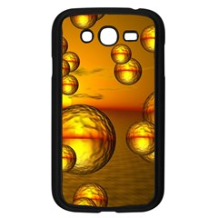 Sunset Bubbles Samsung Galaxy Grand Duos I9082 Case (black) by Siebenhuehner
